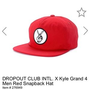 Dropout Club Intl x Kyle Grand SnapBack Hat